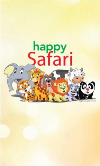 Banner site - Happy Safari - 319 x 531 px