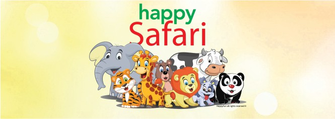 Banner site - Happy Safari - 665 x 235 px