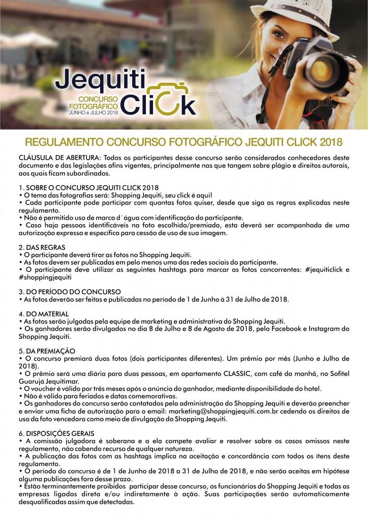 Jequiti Click - regulamento