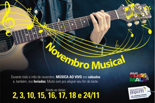 Peas Virtuais - Novembro musical - banner 650 x 438