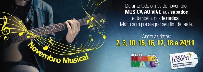 Peas Virtuais - Novembro musical - banner 665 x 237