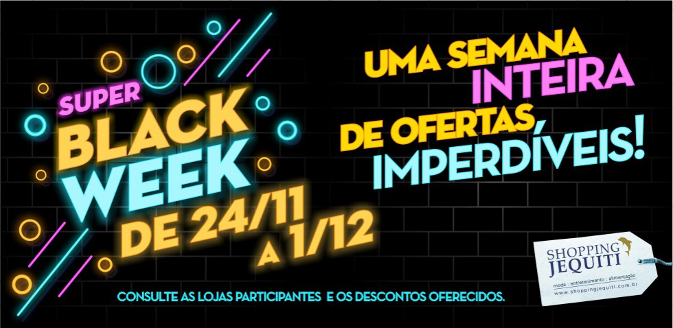 Black Week - Jequiti - Banner 980 x 478 px