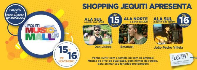 Jequiti Music Mall - 15.11.2019 - Banner 665 x 237 px