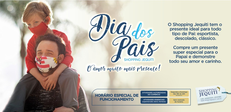 Dia dos Pais 2020 - banner 980 x 478 px